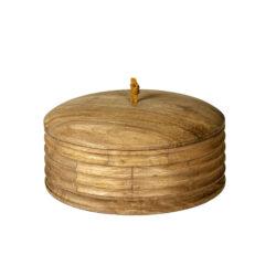 Baku Wooden Box With Lid Big