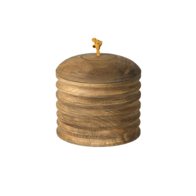 Baku Wooden Box With Lid Small